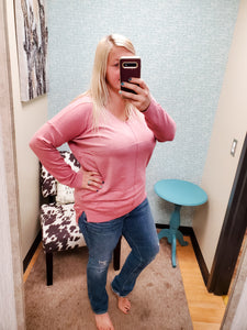 Doorbuster PINK Dreamers Sweater