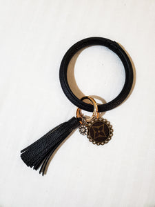 Authent Dallas Key Bangle Black