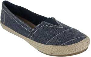 Freedom Slip On Shoe- Denim