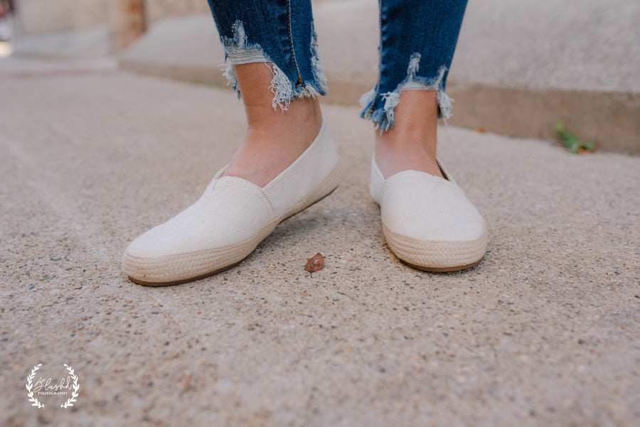 Freedom Slip On Shoe- Natural