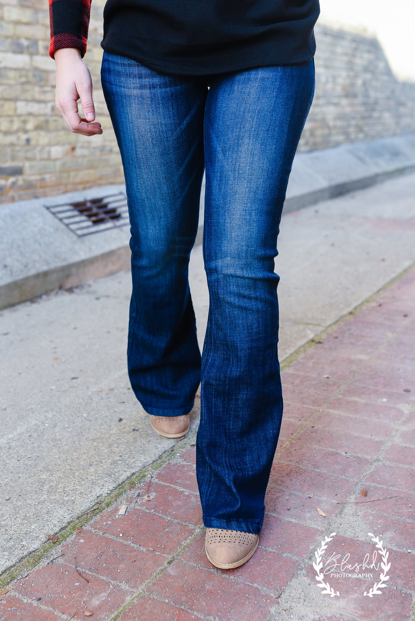 Wider Side Flare Jean