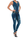 Turning Heads Jumpsuit - Jeans 2 Die 4