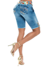 Dolled Up Bermuda Short - Jeans 2 Die 4