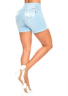 Blue Hawaii Short - Jeans 2 Die 4