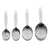 Cuisipro Stainless Steel Measuring Cup Set (4 pc)