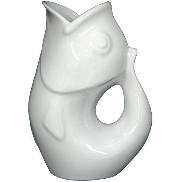 Gurgle Jugs - White