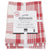 Danica Tea Towel (Set of 3) Red