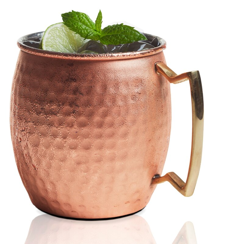 Brilliant Moscow Mule Mug 20oz