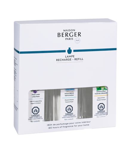 Maison Berger Fragrance Trio Pack - Fresh