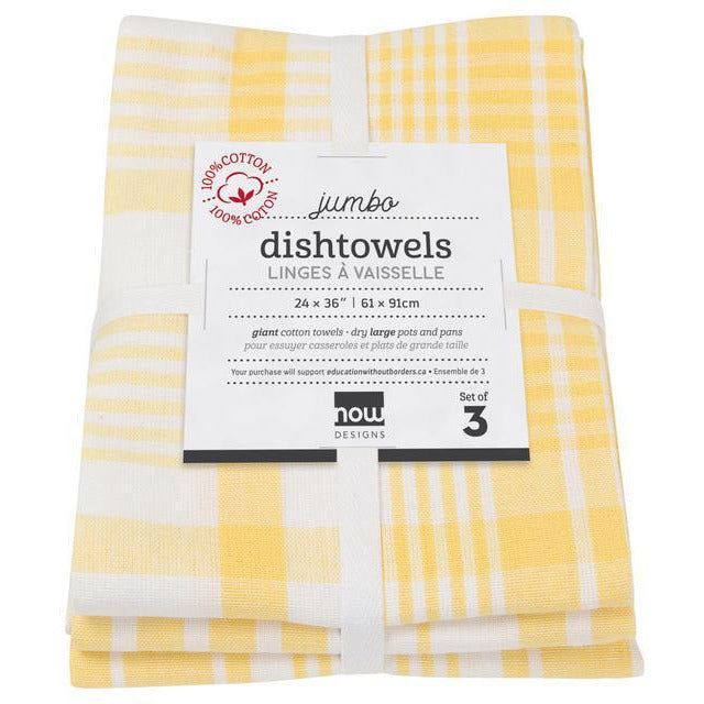 Danica Tea Towel (Set of 3) Lemon