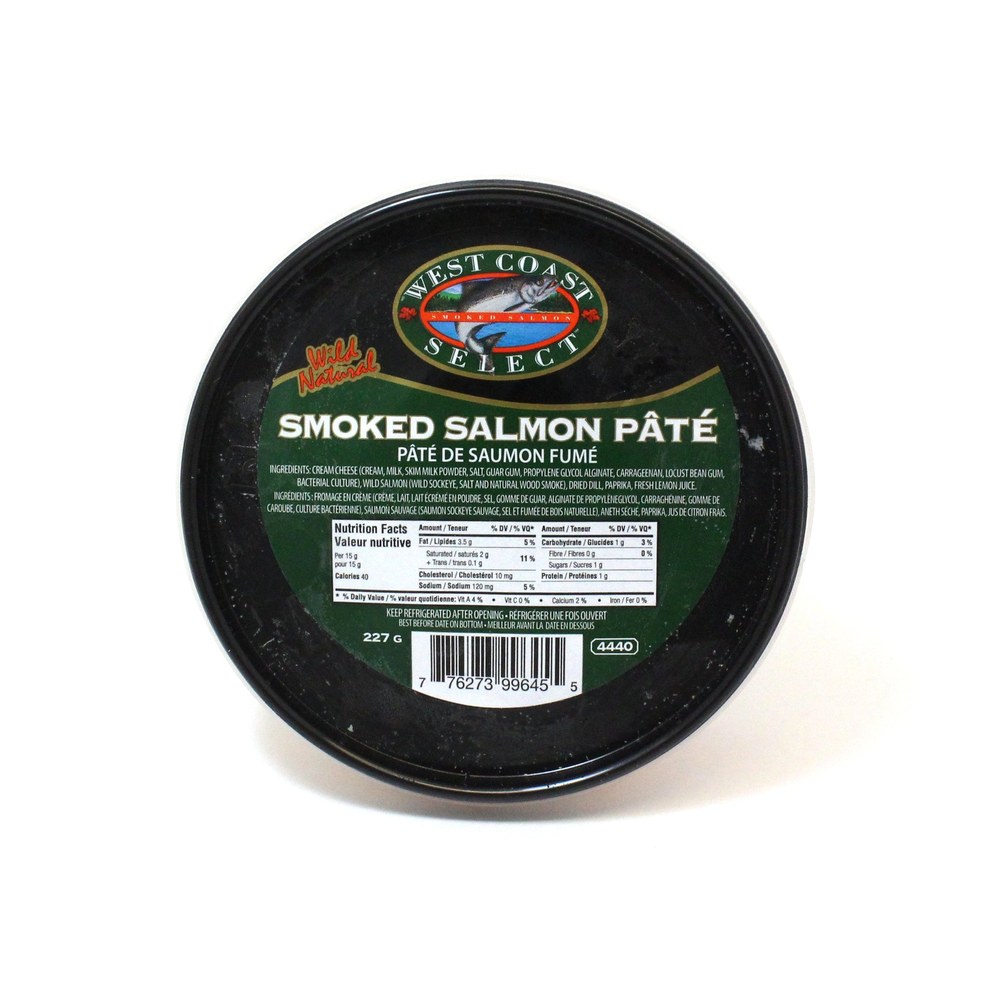 West Coast Select Smoked Salmon Pate