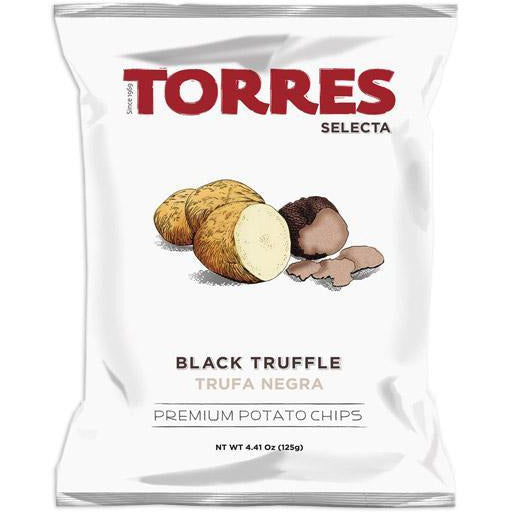 Torres Potato Chips Black Truffle