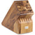 Wusthof 17 Slot Acacia Wood Knife Block