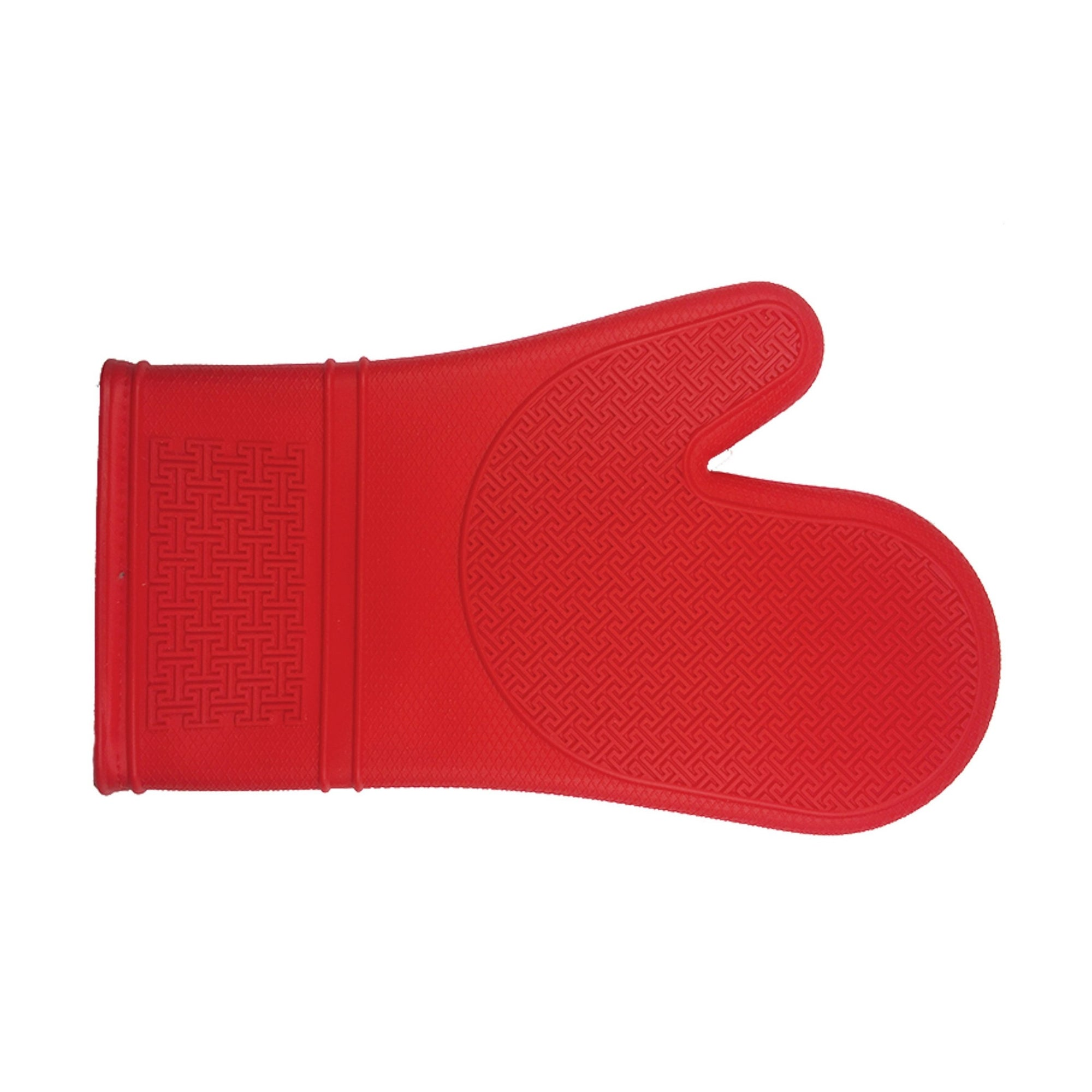 Kitchen Basics Oven Mitt Silicone Red