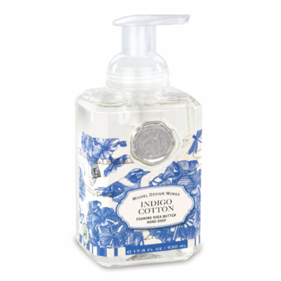 Michel Design Works Foamer Soap Indigo Cotton