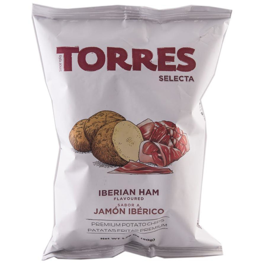 Torres Potato Chips Iberian Ham