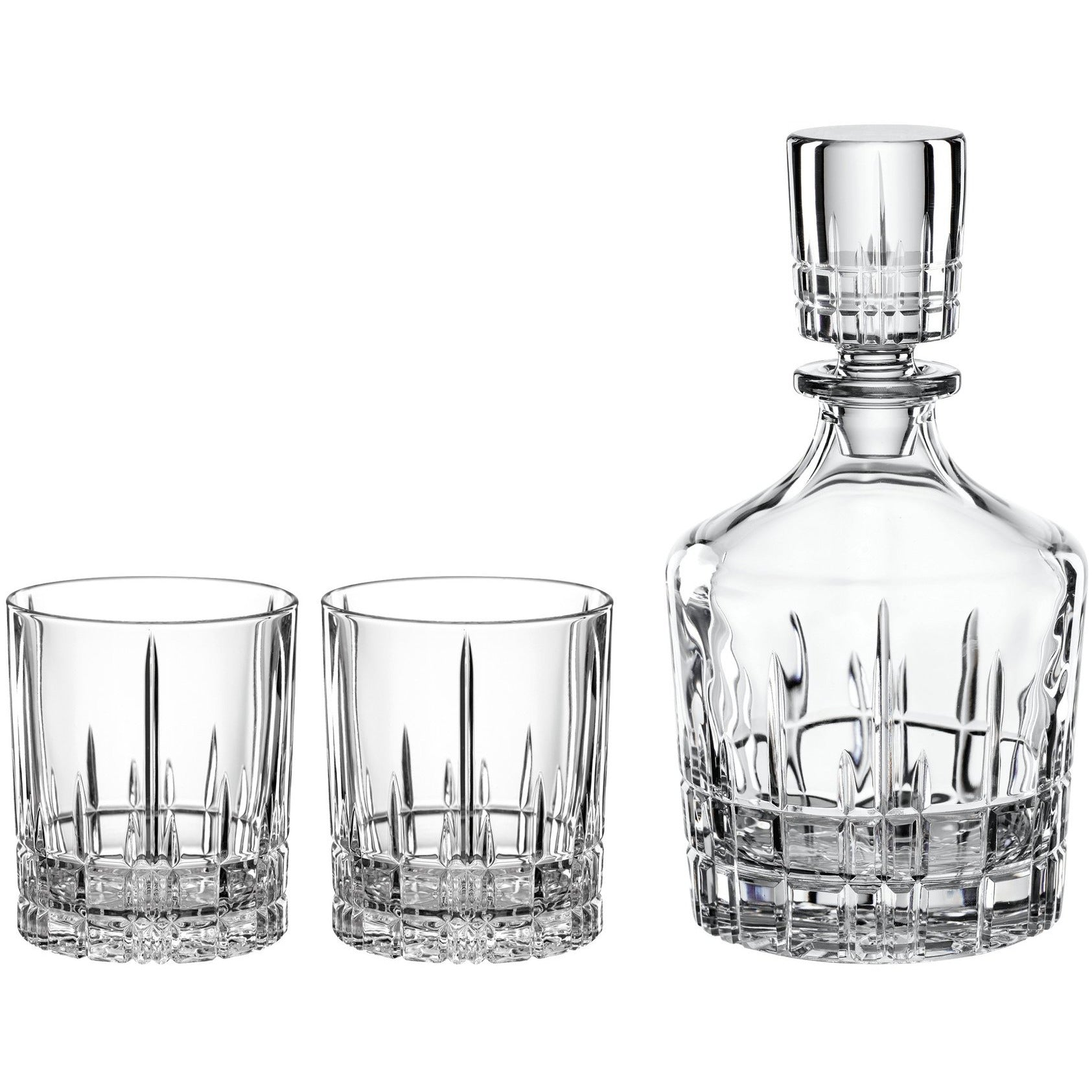 Spiegelau 3pc Glass Whiskey Set