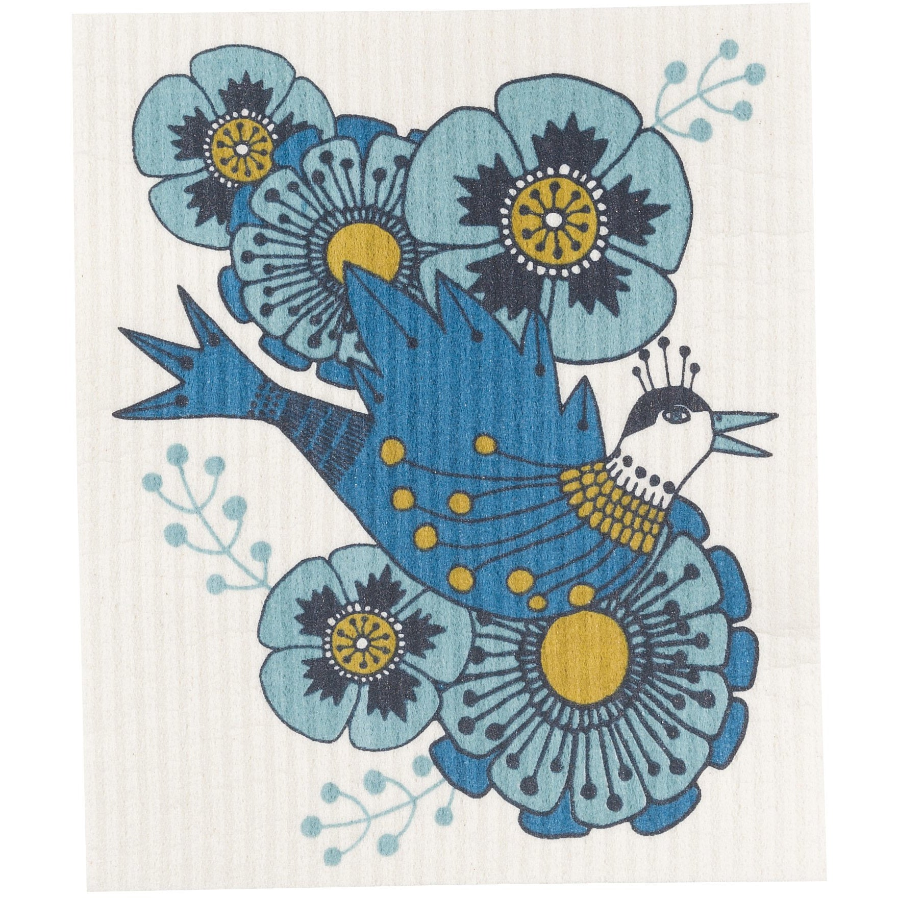 Swedish Dishcloth Birdland