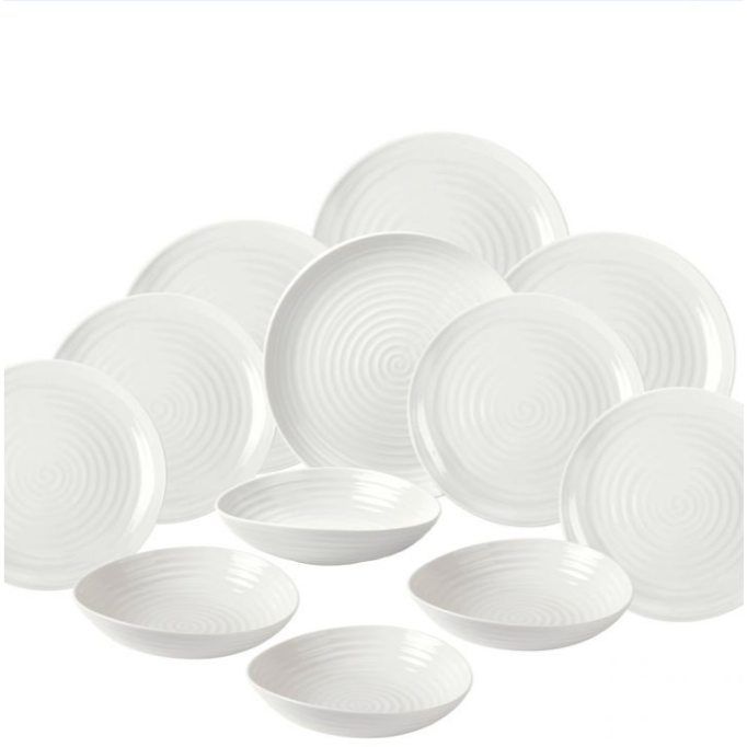Sophie Conran 12pc Coupe Dinner Set