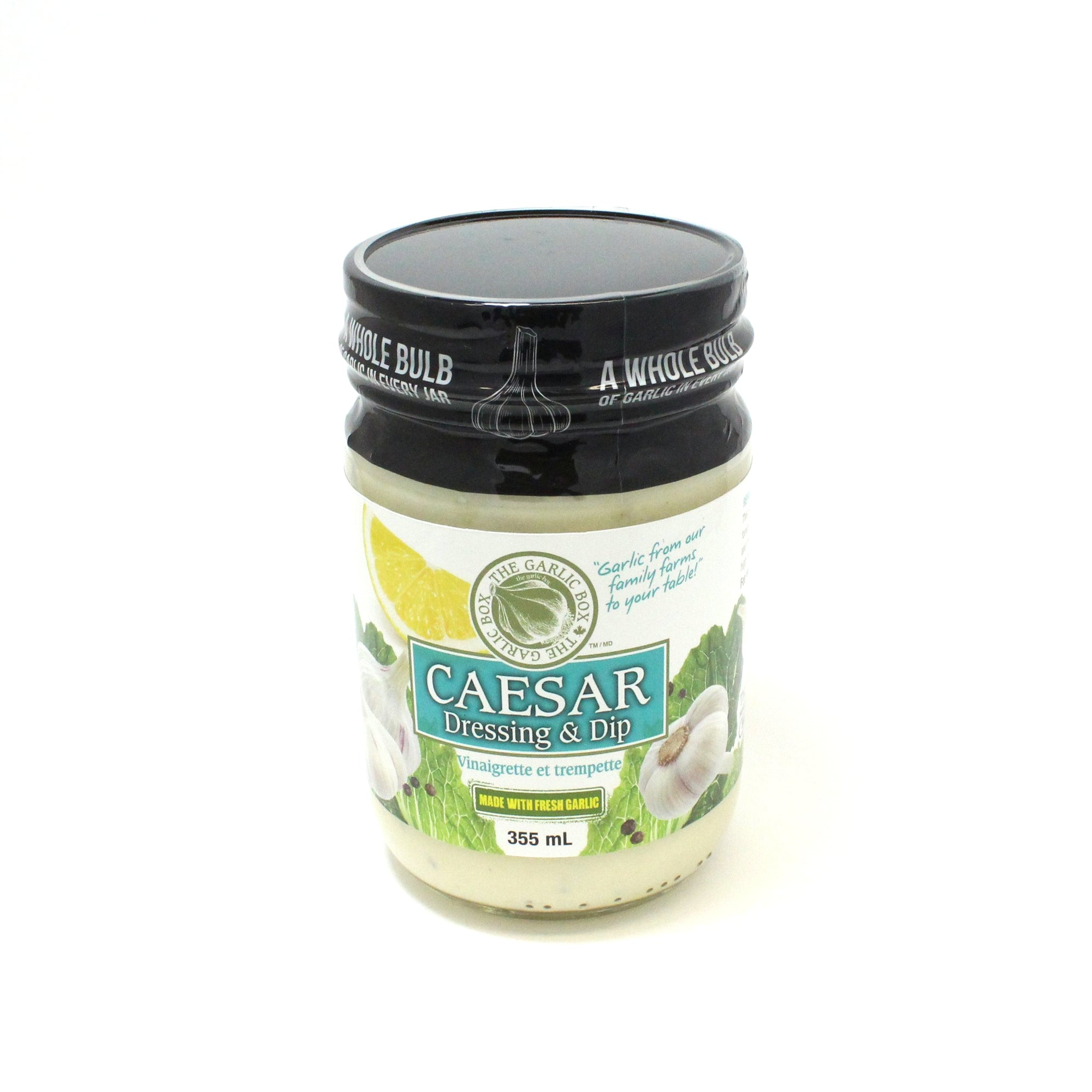 Garlic Box Caesar Dressing