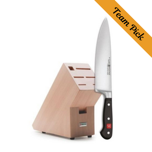 Wusthof 2-in-1 Knife Block and Cook's Knife Classic 8""