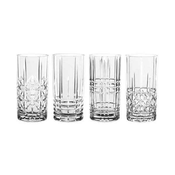 Nachtmann Highland Long Drink Glasses Set of 4