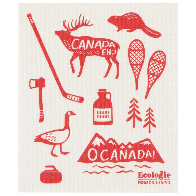 Swedish Dish Cloth O Canada