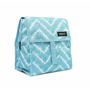 PackIt Lunch Bag Aqua Tie Dye