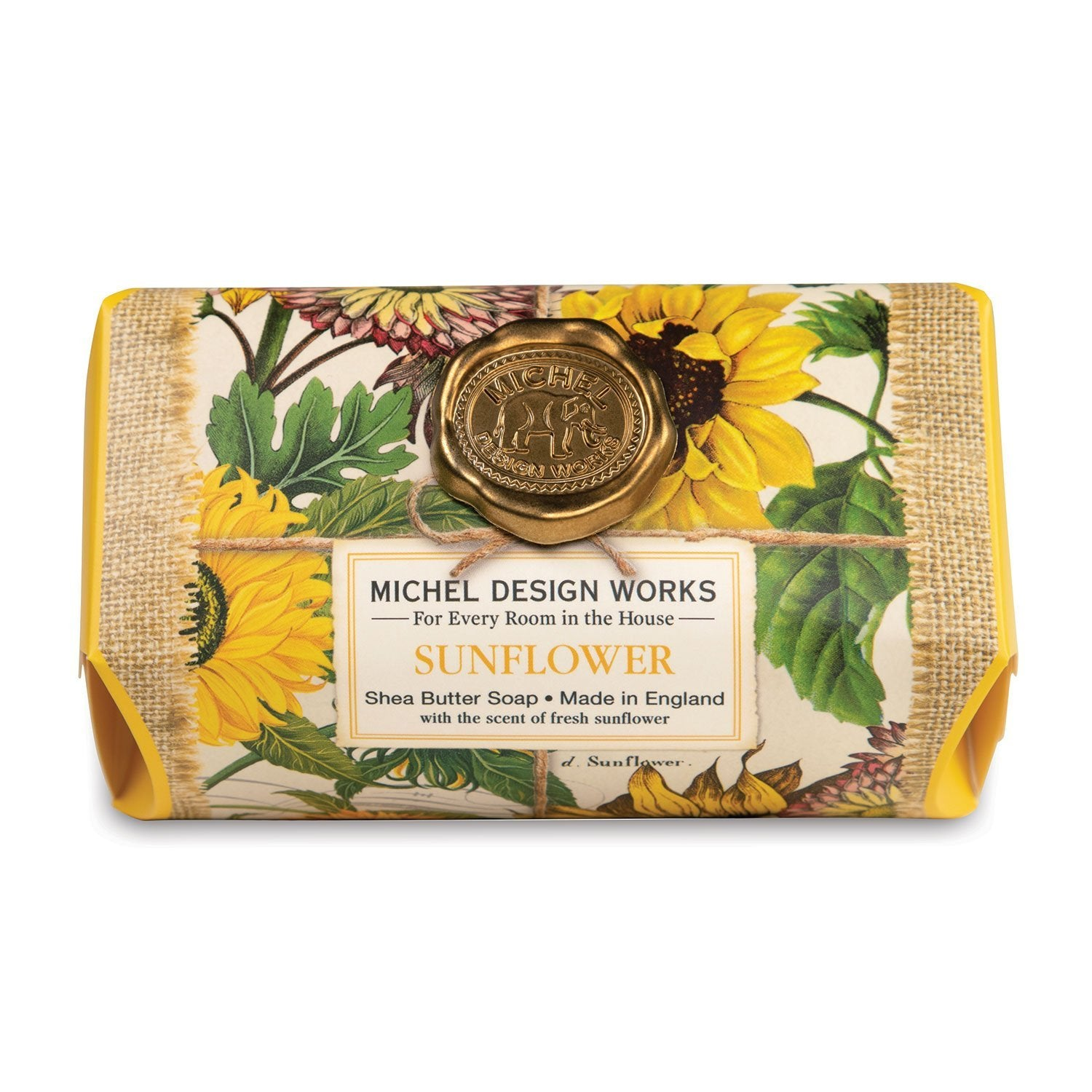 Michel Design Works Soap Bar Sunflower
