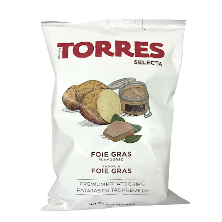 Torres Potato Chips Foie Gras