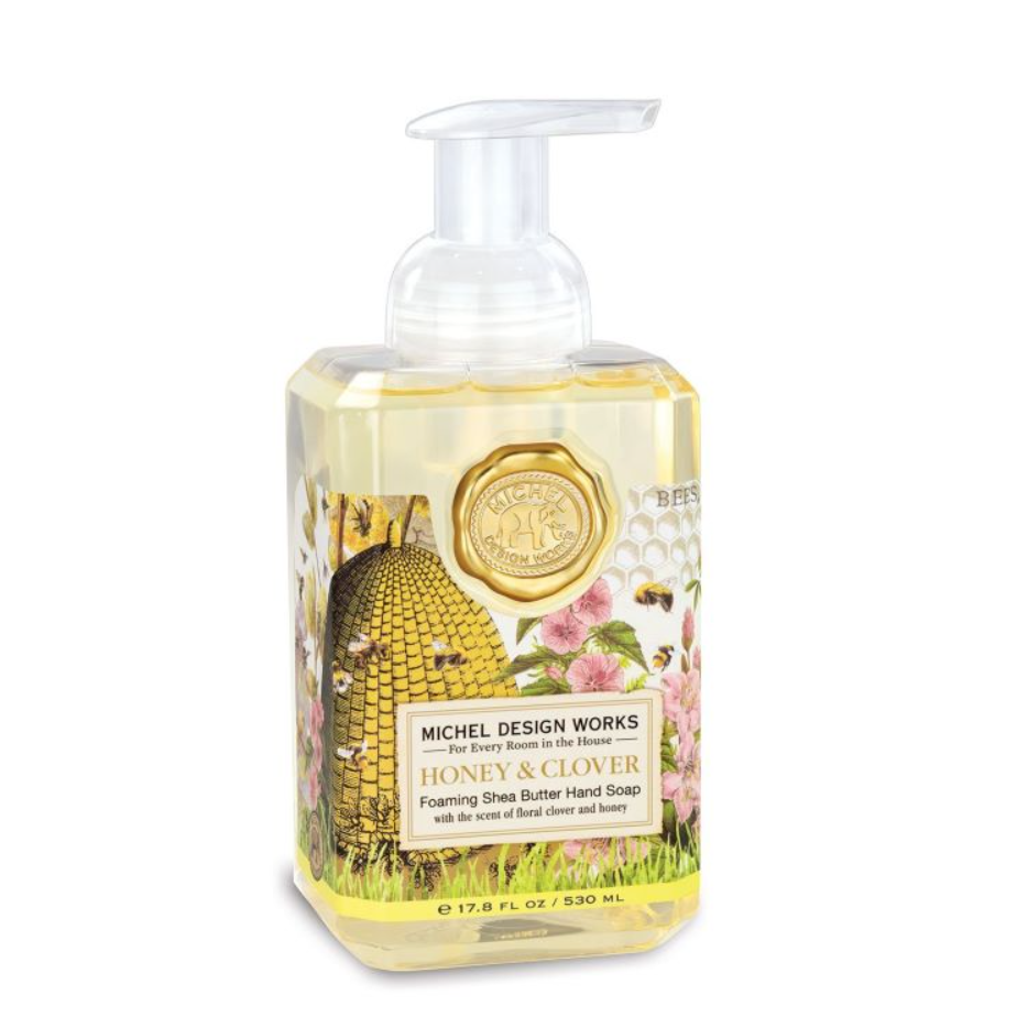 Michel Design Works Foamer Soap Honey & Clover