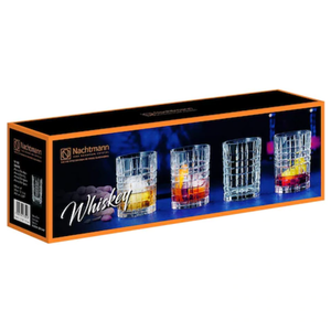 Nachtmann Square Whiskey Tumblers (Set of 4)