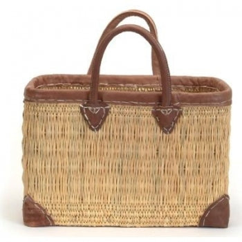 Rectangular Straw Market Bag