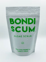 Load image into Gallery viewer, Bondi Scum Algae Body Scrub - STRAWBERRY AND VANILLA