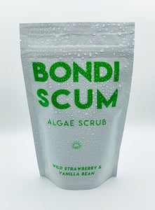 Bondi Scum Algae Body Scrub - STRAWBERRY AND VANILLA