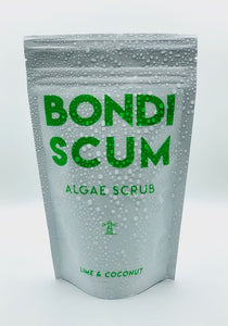 Bondi Scum Algae Body Scrub - LIME AND COCONUT