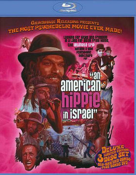 AN AMERICAN HIPPIE IN ISRAEL (1972) LIMITED EDITION 3-disc (Blu-ray+2-DVDs)