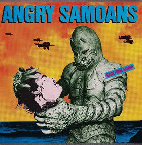 ANGRY SAMOANS: Back From Samoa LP (yellow vinyl)