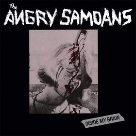 ANGRY SAMOANS: Inside My Brain LP (red vinyl)