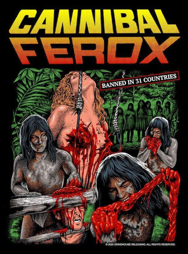 CANNIBAL FEROX Women's T-shirt : Cannibal Feast