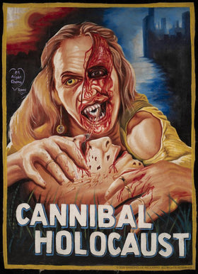 CANNIBAL HOLOCAUST Tapestry: Ghana Poster