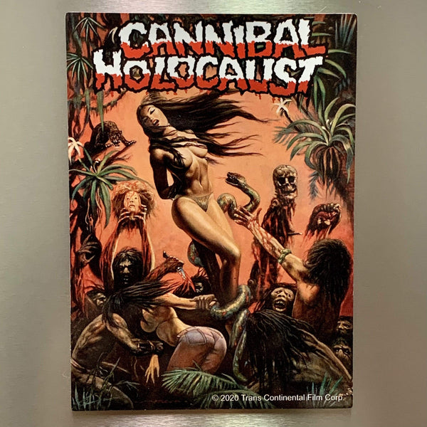 CANNIBAL HOLOCAUST jumbo magnet: Banned Painting