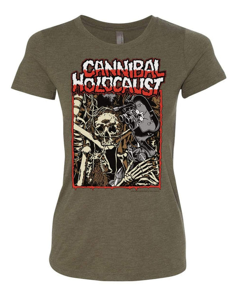 PATAC Clothing CANNIBAL HOLOCAUST Women's T-Shirt: Skeletal Remains (AVAILABLE 2/14/2020)