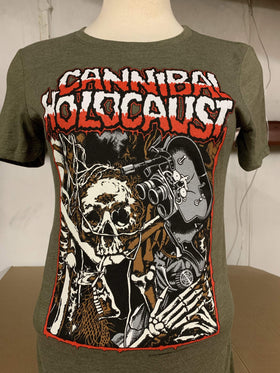 CANNIBAL HOLOCAUST Women's T-Shirt: Skeletal Remains