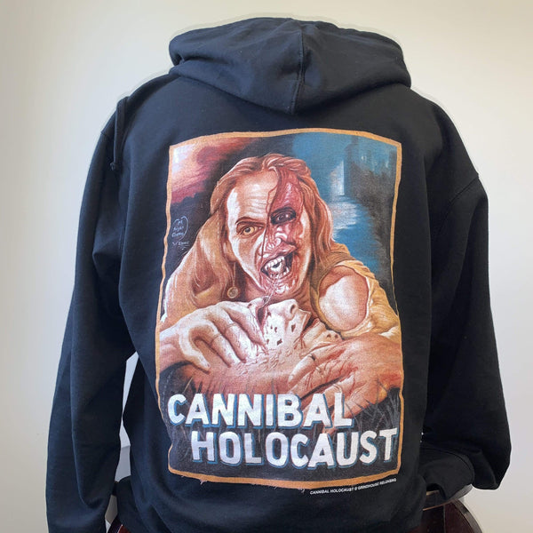 CANNIBAL HOLOCAUST Zip-Up Sweatshirt: Ghana Poster