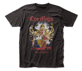 CRO-MAGS: Down, But Not Out (Best Wishes) T-shirt