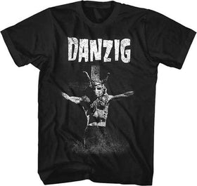 DANZIG: 'Skullman on Cross' T-shirt