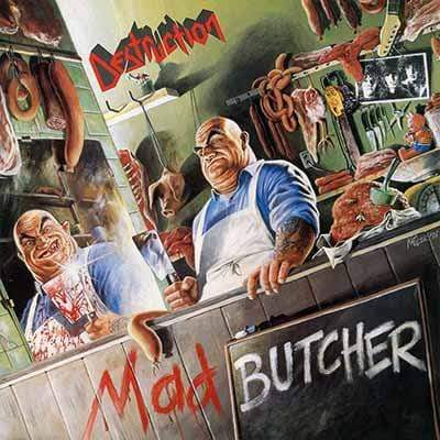 DESTRUCTION: Mad Butcher LP (green vinyl)