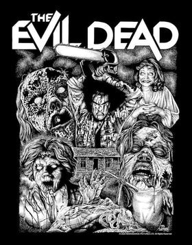 EVIL DEAD 3/4 Sleeve Shirt : '2020 Drive-In Tour'