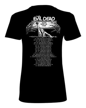 EVIL DEAD Women's T-shirt : '2020 Drive-In Tour' Glow in the Dark ink